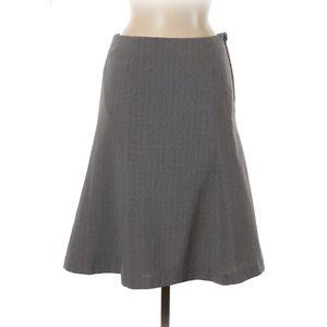 GAP Flared Pinstripe Skirt